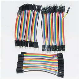 10CM Jumper Wire - Male To Female (40 Pack)