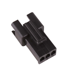 JST SM 3-Way 1-Row Straight Female Connector