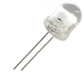LED 10mm - White