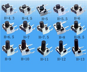 Tactile Push Button Switch  6X6X13