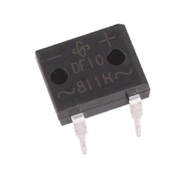 DF10M SINGLE DIODE BRIDGE RECTIFIER  (1000V, 1A)