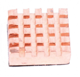 RaspberryPI Heatsink (Copper)
