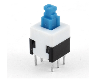 Tactile Push N/O Switch - Latching