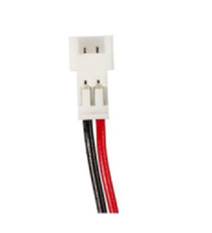 MOLEX 1.25 2-PIN FEMALE CONNECTOR CABLE