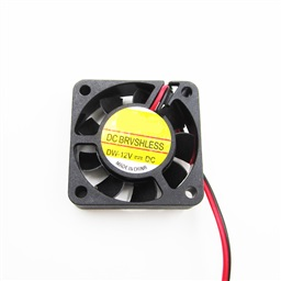 Mini Fan (12V, 40x40x10mm)