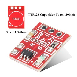 Capacitive Touch Switch Button Self-Lock Module (11.5mm x 8mm)