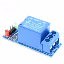 1-Channel Relay Module (5V Low-Level-Trigger )
