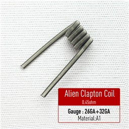 Alien Clapton Coil Heating Wire (Premade Coil)