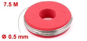 Uxcell Nichrome Heater Wire (0.5mm x 750cm | 24AWG)