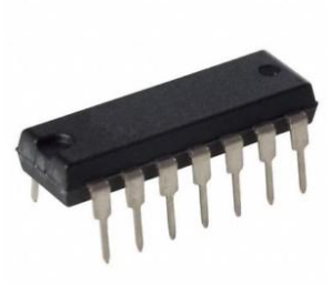 CD4013BE (Dual D-type flip-flop IC DIP-14)